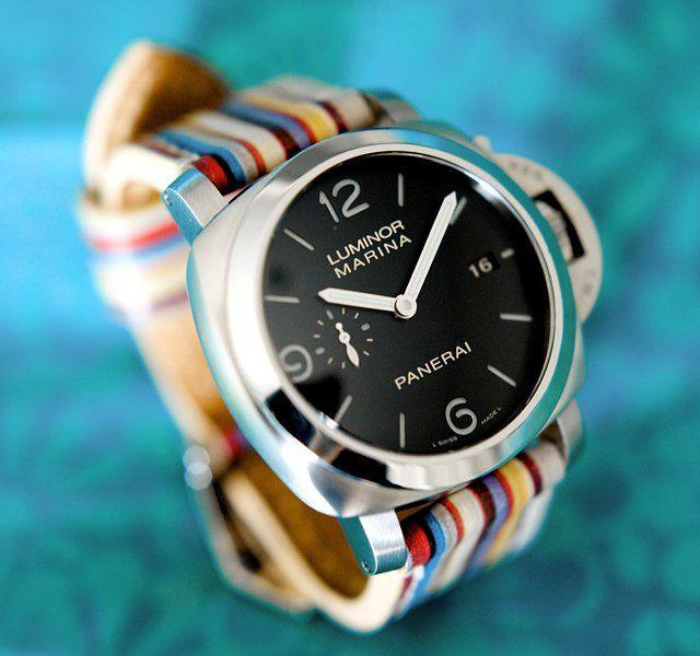 Panerai Luminor 1950 Marina Watch - very nice bracelet
