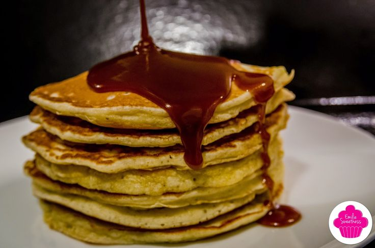 Emilie Sweetness: Pancakes au caramel au beurre salé