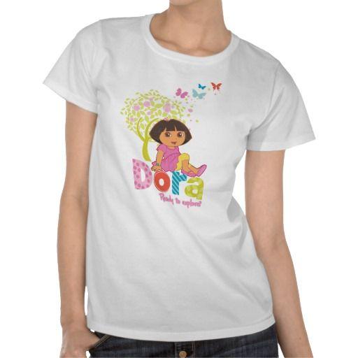 Dora The Explorer - Dora Ready To Explore Shirts