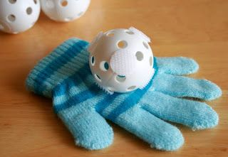 Velcro snowball catch:Simply Made ~ Winter Themed Activities