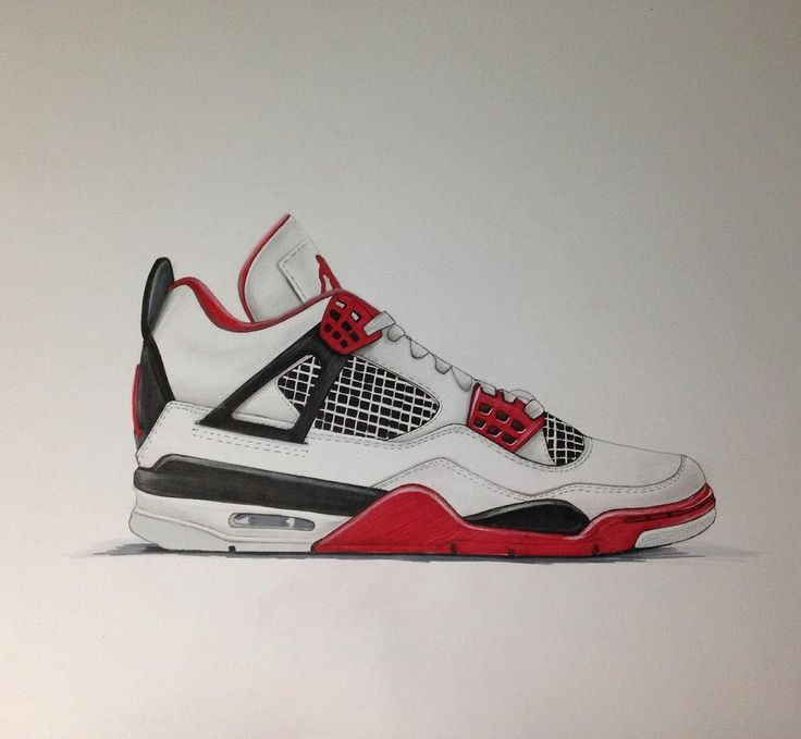 Finally finished! ✏ Air Jordan 4 #sketching #markerrendering #markersketching #prismacolor #markersketch #marker #mydrawing #sketch_daily #iddrawing #designsketch #pencilsketch #doodleday #doodleart #doodle #draw #idsketch #ID #productsketch #productdesignsketching #designsketching #sketchaday #sketchdaily #drawing #productdesign #sketchbook #sketch #sketching #diseñoindustrial #idsketching #nike #nikesketch