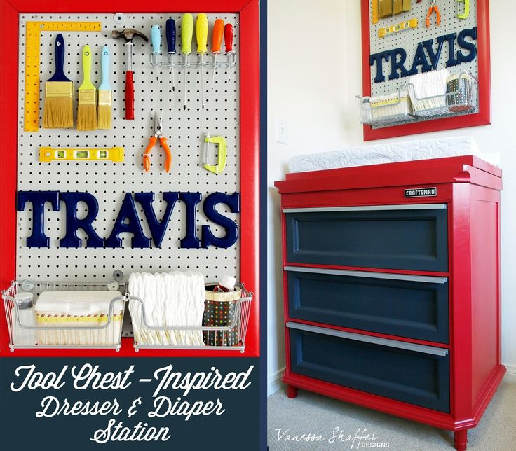 Vanessa Shaffer Designs: Travis' Construction Themed Nursery
