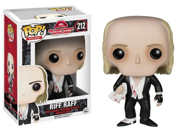 Riff Raff vinyl figure - It's astounding... Time is... fleeting. Madness... takes its toll... Funko is bringing the longest running cinema release in history, the Rocky Horror Picture