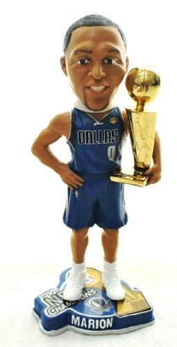 DALLAS MAVERICKS #0 SHAWN MARION NBA OFFICIAL 2011 CHAMPIONSHIP TROPHY BOBBLEHEAD BOBBLE