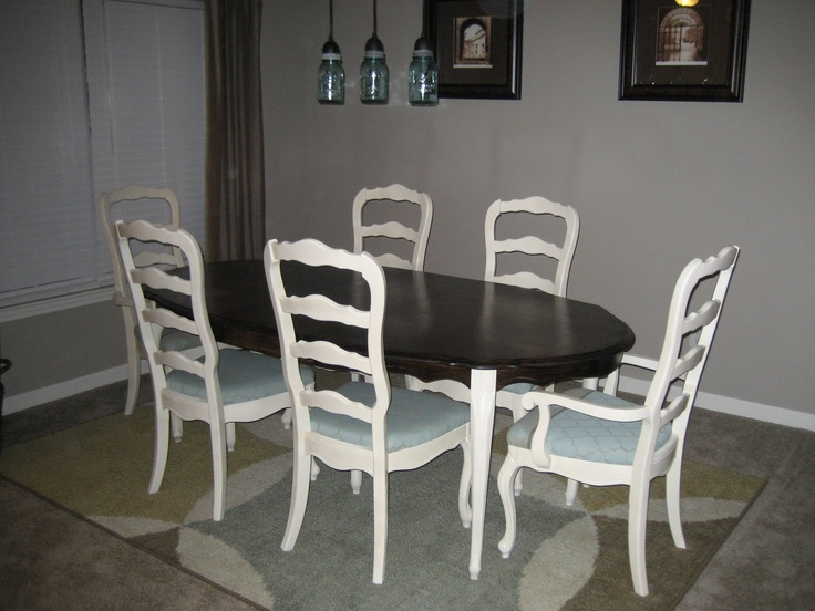 Dining Table And Chairs Redo Blog Posts Pinterest