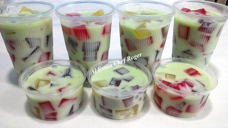 GELATINA DE MOSAICO PARA VENDER, Receta #424, gelatinas para negocio - YouTube