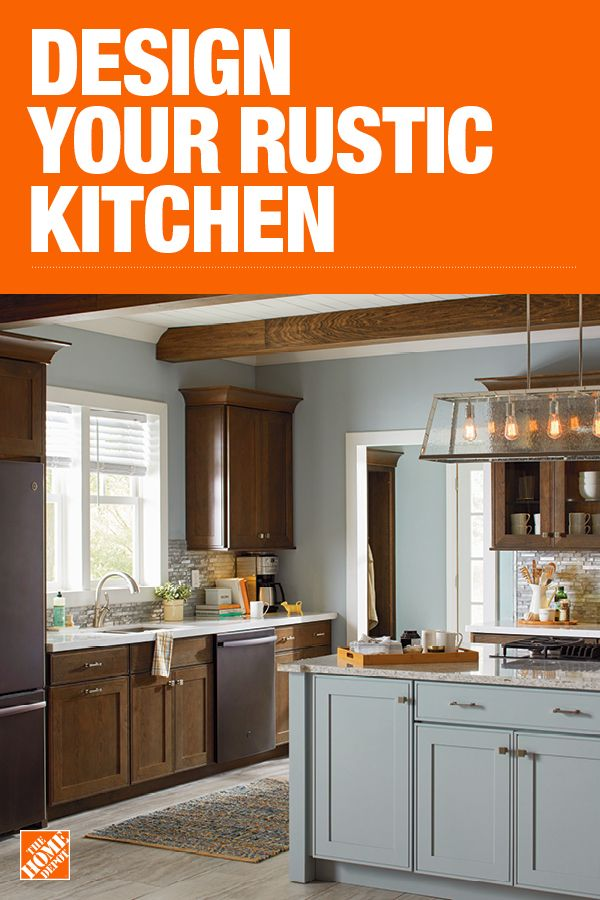 The Home Depot Has Everything You Need For Your Home Improvement Projects Click To Learn More And Interior Design Kitchen Small Rustic Kitchen Kitchen Remodel