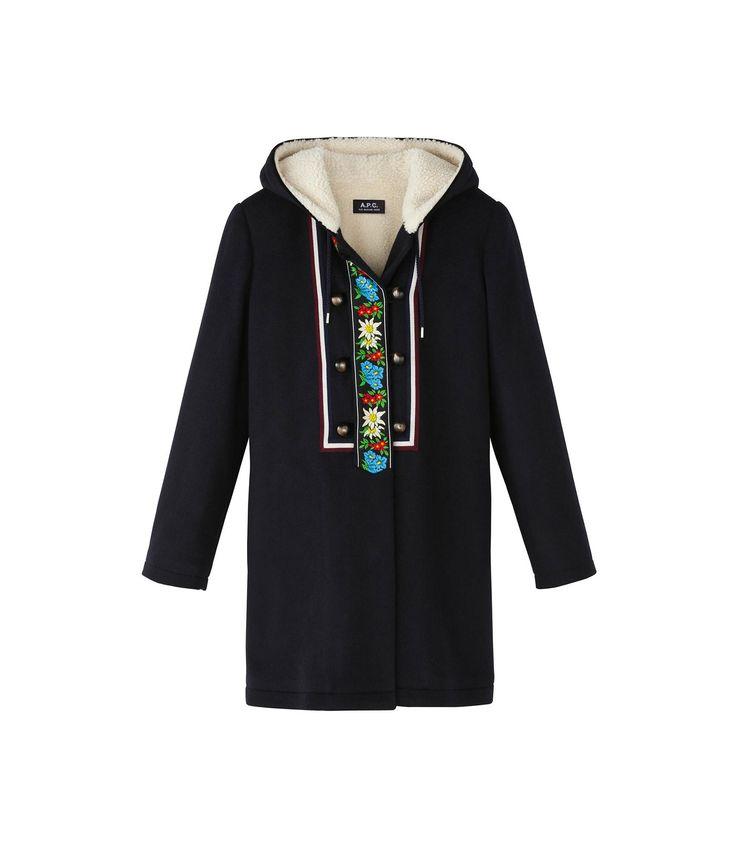 apc tyrolean coat