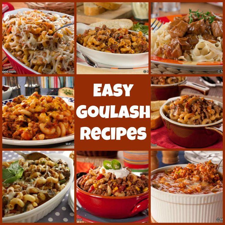 10 Easy Goulash Recipes | Easy goulash recipes, Goulash ...