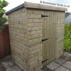 ... Home › Products › Sheds › 16mm Tanalised Timber Pent Roof Shed