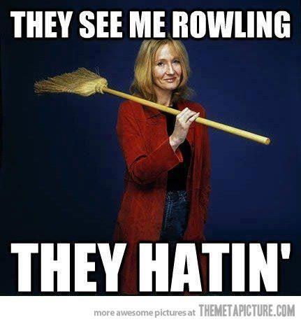 Muggles gonna muggle (Bahaha!!)