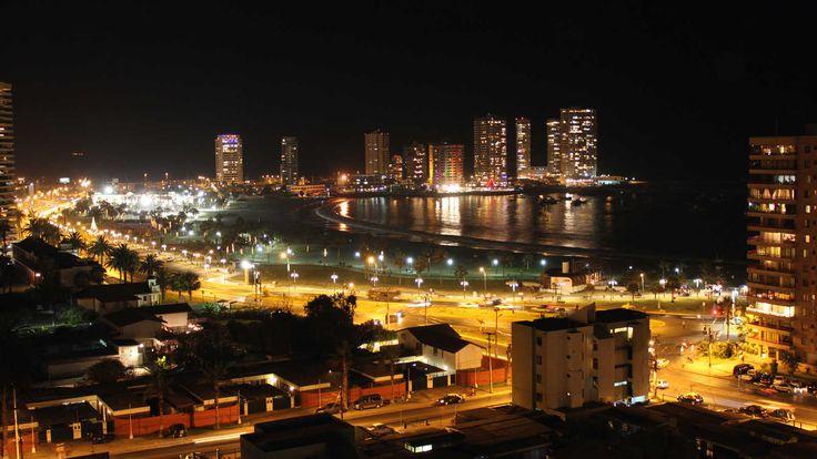 Iquique City, Chile.