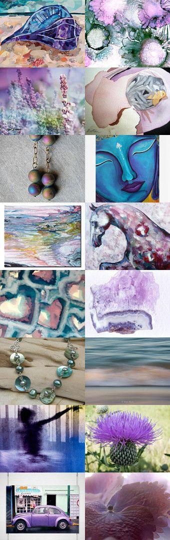 Purple Peace by Teressa Rhea Terry on Etsy--Pinned with TreasuryPin.com