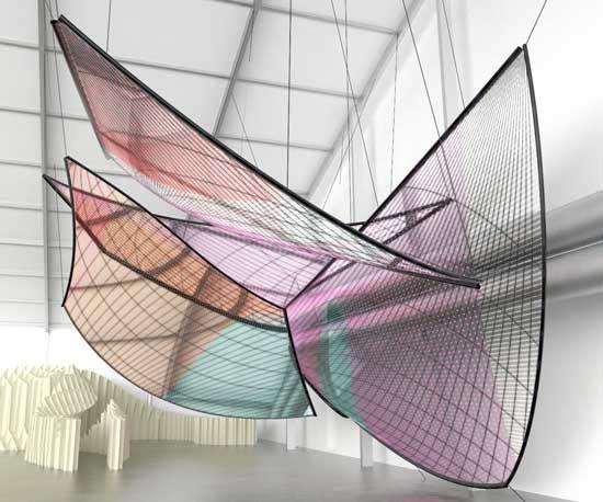 greg lynn: installation for swarovski crystal palace at design miami 09 - designboom | architecture & design magazine