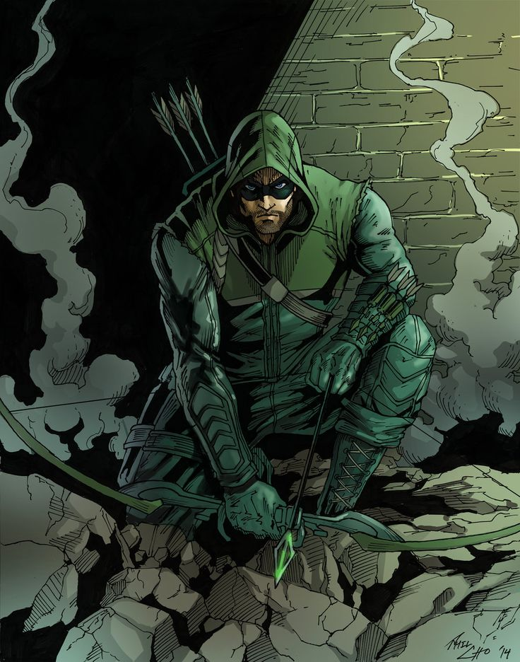 The Arrow by phil-cho.deviantart.com on @DeviantArt