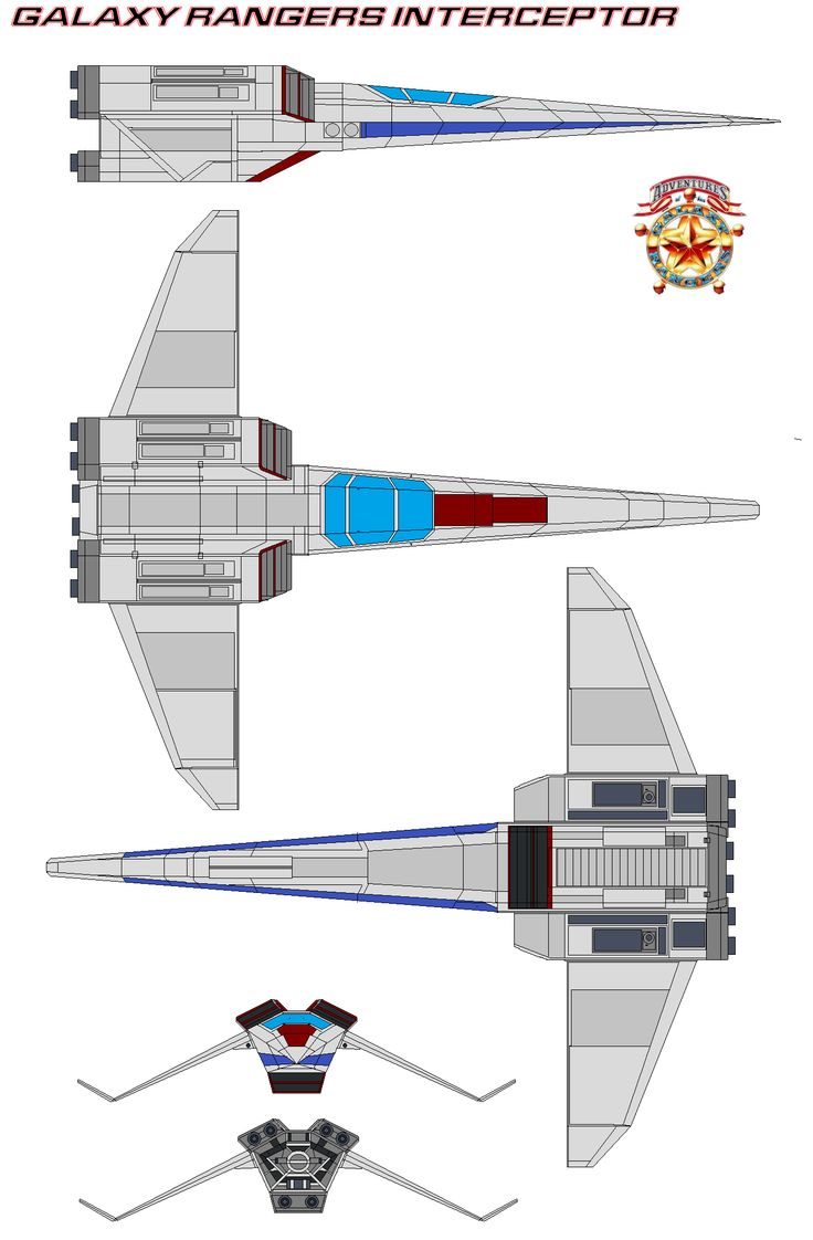 Galaxy Rangers Interceptor Ranger-2 by bagera3005.deviantart.com on @deviantART