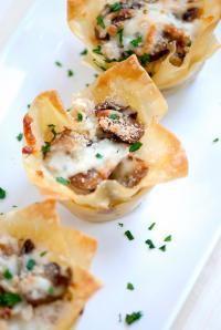 "Definitely a family favorite! // ""Chicken Carbonara Mini Lasagna Cupcakes"" #recipe #easy #familyfriendly"