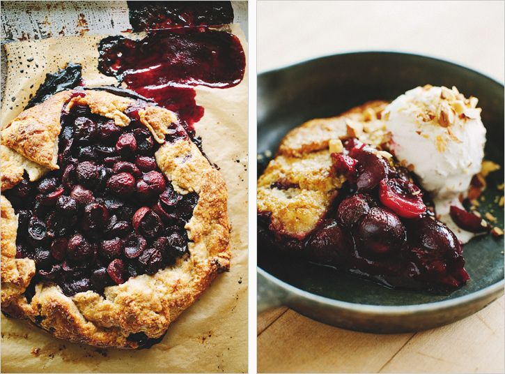 cherry almond galette // sprouted kitchen