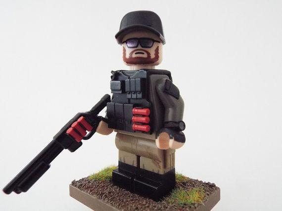 PMC Tiny Tactical Custom Minifigure