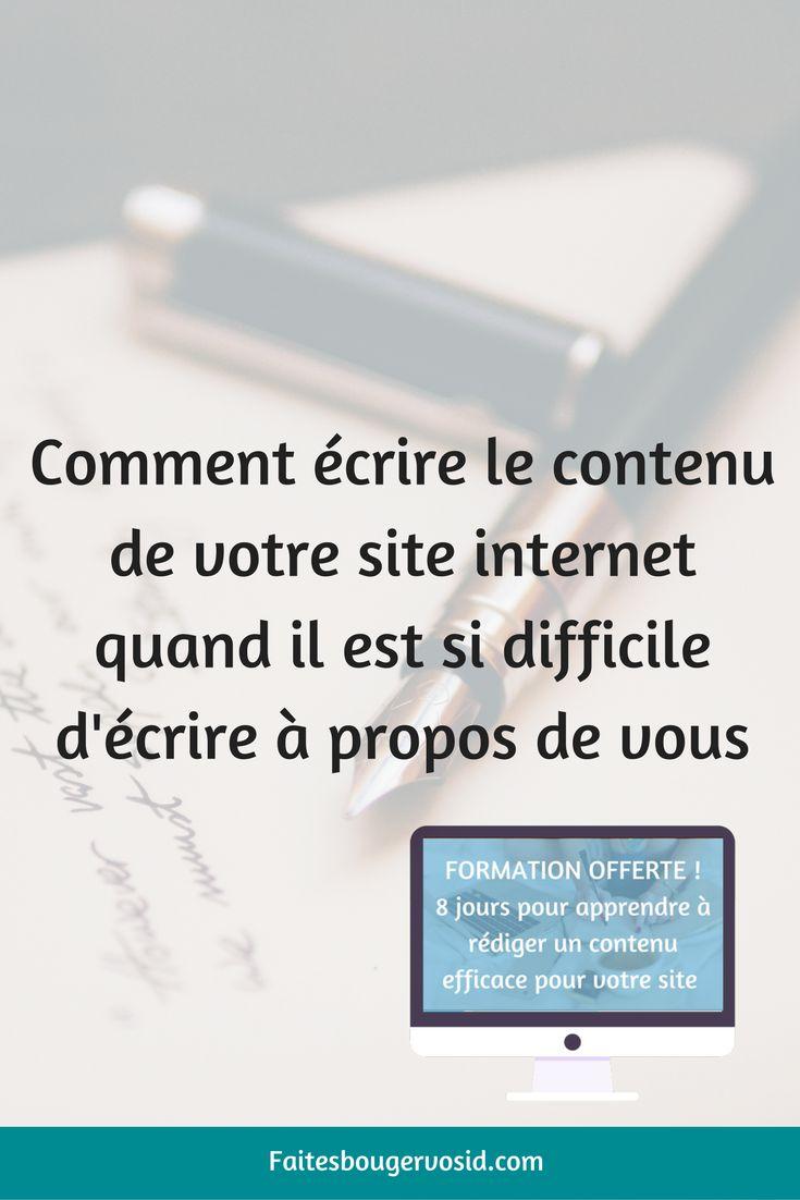 comment  u00e9crire le contenu de votre site internet quand vous trouvez difficile d u0026 39  u00e9crire  u00e0 propos