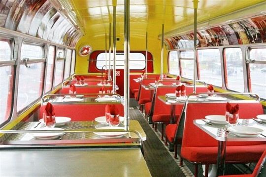 Bus Restaurant, France