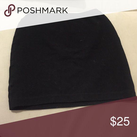 Mini Skirt Tight, stretchy black skirt. American Apparel. American Apparel Skirts Mini