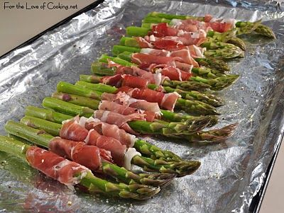 For the Love of Cooking » Roasted Asparagus with Prosciutto