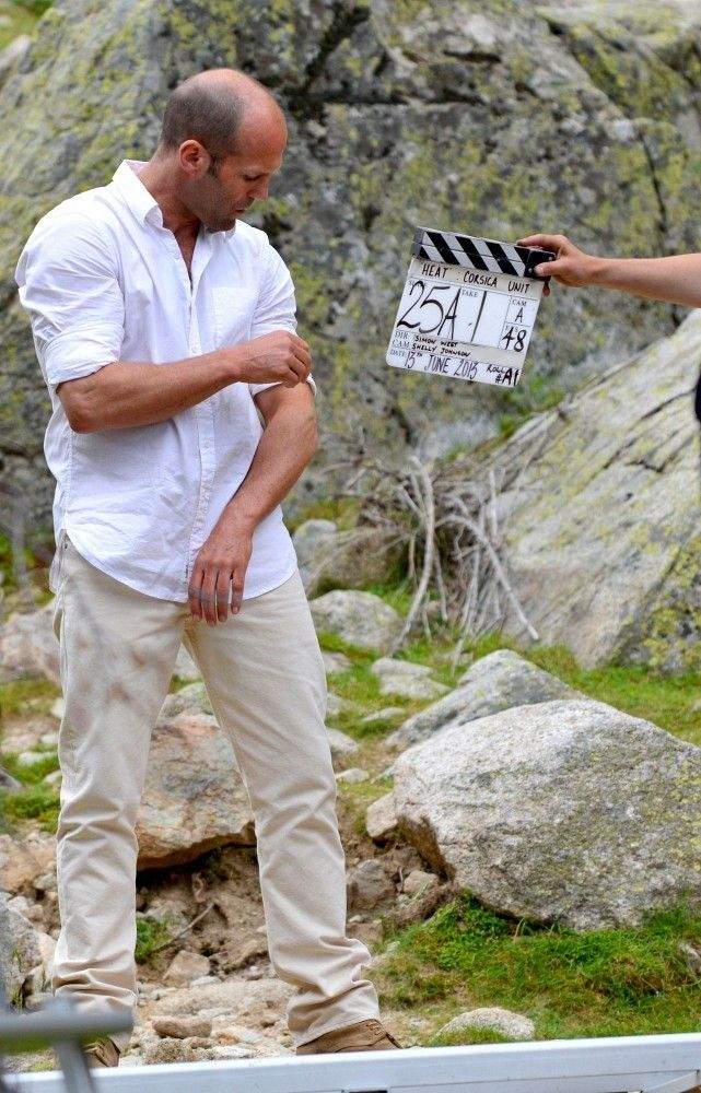 Jason Statham Photos: Jason Statham Films 'Heat' in Corsica