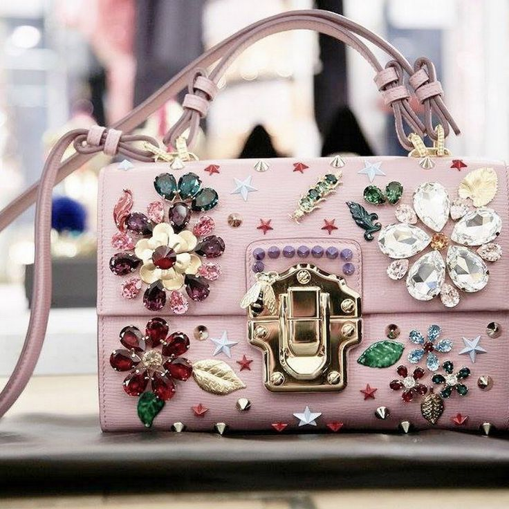 Have you ever wondered why you like something?  I have no idea... so not me.  Funny.  Crystal-embellished: Dolce and Gabbana 2016