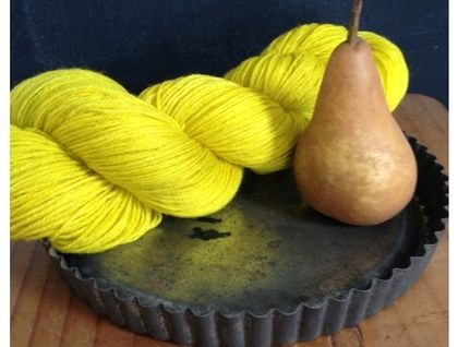 Sock Yarn, O French Pear