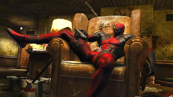 The Deadpool of the game is mostly the normal Marvel U Deadpool, with a splash of his MAX Comics personality thrown in to boot.