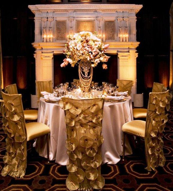 Gold Wedding Decorations: 17 Best Ideas About Modern Wedding Decor On Pinterest