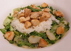 poulet-curry-vert