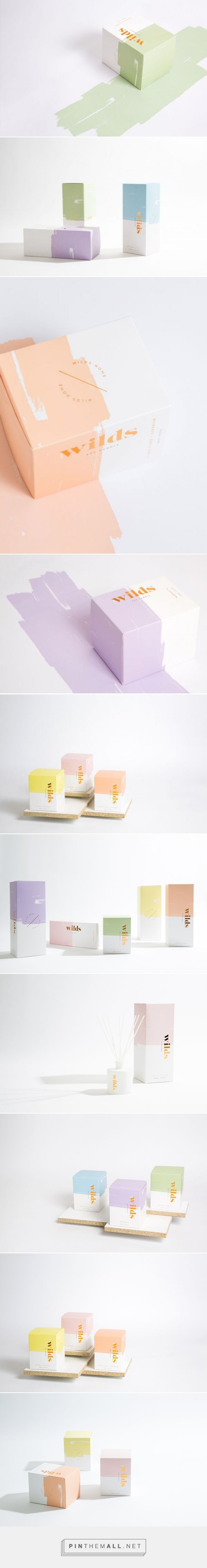 Wilds Candle Packaging by Smack Bang Designs | Fivestar Branding Agency – Design and Branding Agency & Curated Inspiration Gallery #packaging #packagingdesign #designinspiration #design #branding #candlepackaging #candles