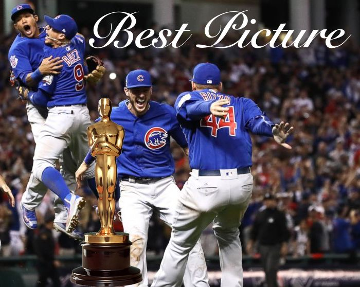 Drum Roll Please, the Best Picture of the Century. Cubs game 7 of the World Series.