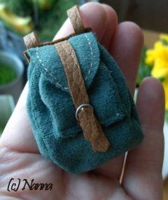 How to make a Miniature backpack