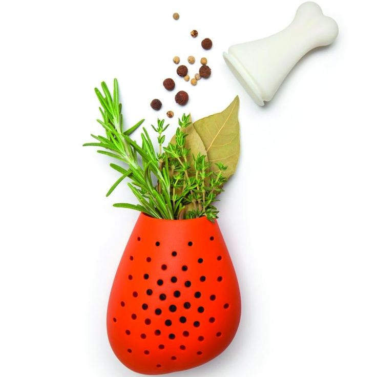 Design Gewürzsieb - Hähnchenschenkel nicht nur für Vegetarier!