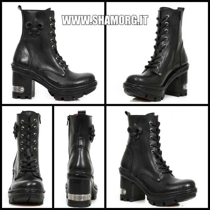 We <3 New Rock!   #shamorg #rockboots #gothgoth #gothboots #gothfashion #gothicstyle #newrock_official