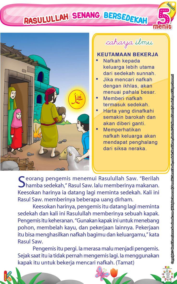 Rasulullah Senang Bersedekah | Ebook Anak