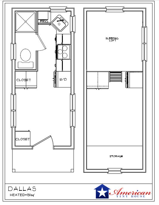Tiny house floor plans on wheels rating rate perfect for Very small house floor plans