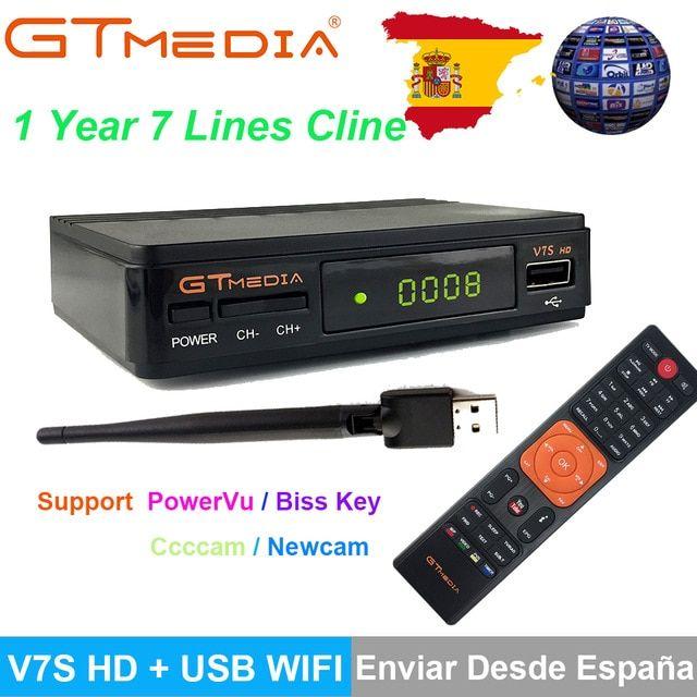Freesat V7S HD DVB-S/S2 Satellite Receiver Full 1080P USB WIFI