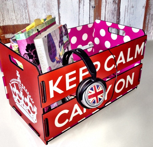 Box Keep Calm