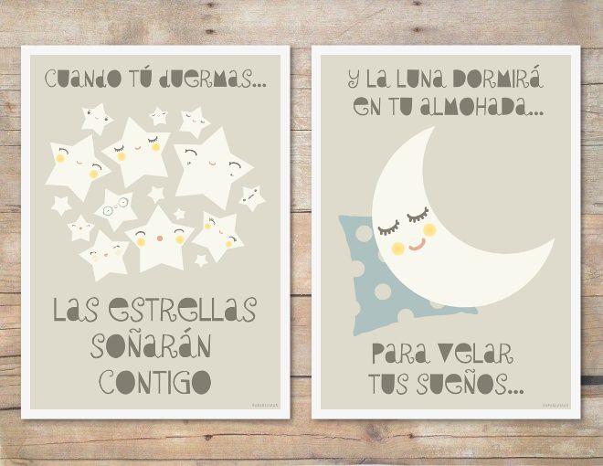 """Pack de láminas """"Dulces Sueños"""" / Posters """"Sweet Dreams"""" / saraillamas SHOP"""