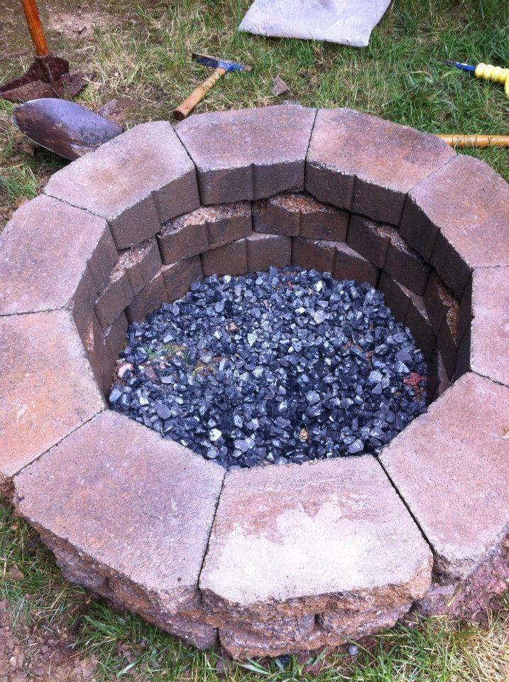 Fire Pit Build - Imgur