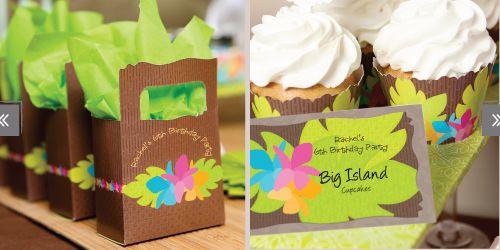 Luau Birthday Party Theme #SummerDecorations #SummerPartyIdeas #Luau