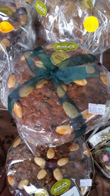 Award winning fruit cake