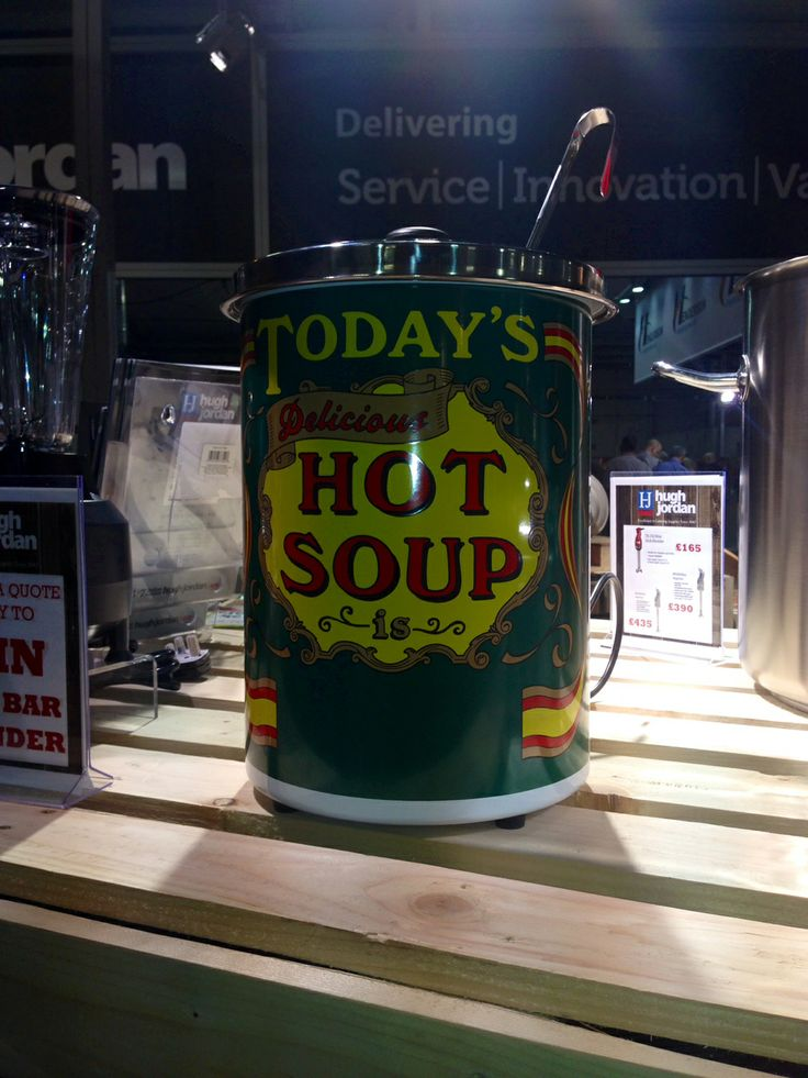 A quirky 5 litre soup kettle which was very well received at the recent IFEX show in Belfast
