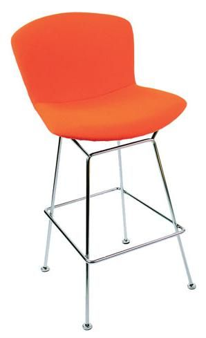 bertoia stool with full cover modern bar stools and counter stools