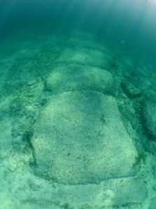 Bimini Road, stones submerged off the coast of the Bahamas said by some to be a man-made wall some 10,000 to 20,000 years old. It is part of body of evidence some say show prehistoric civilizations were far more advanced than conventional science is willing to admit. (Shutterstock*)