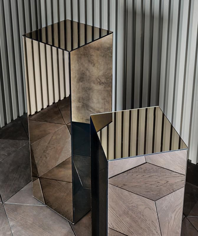 Mirrored pedestal Accessori - Collezione - Casamilano Home Collection - Italy